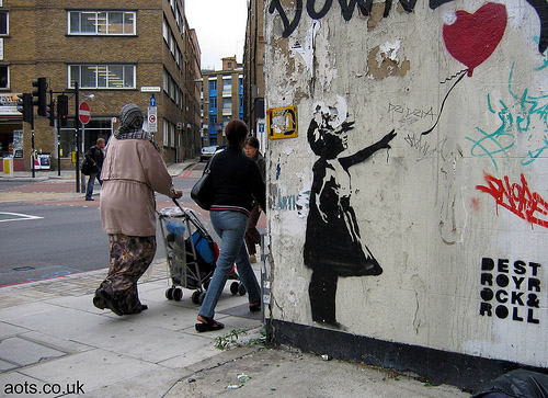 banksy_balloon_girl_downey Art Of THe State