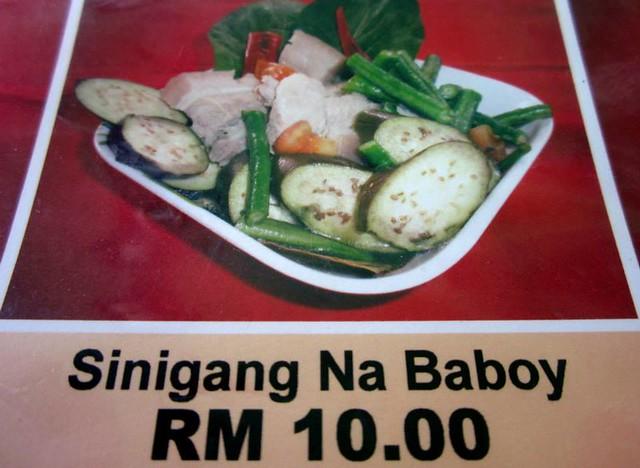 Sinigang Na Baboy 1