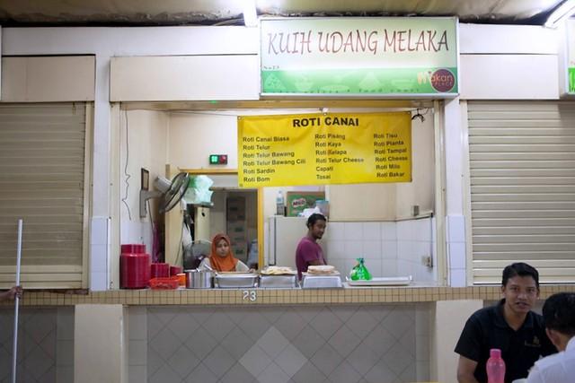 roti canai - mid valley makan place