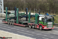 Scania P420 6x2 Car Transporter - AY12 AFX - Heather Jane - Eddie Stobart Automotive - M1 J10 Luton - Steven Gray - IMG_4624