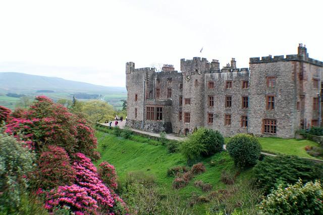 Muncaster Castle. Cumbria, England
