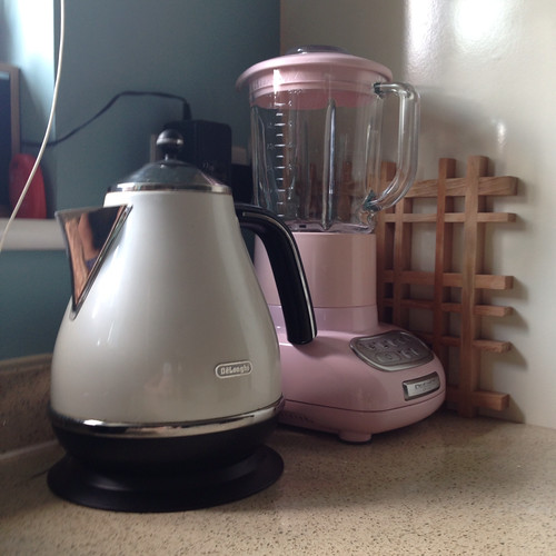 More vintage/retro style and my pastel pink blender