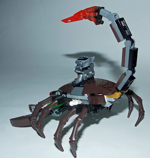 LEGO Chima MOC - Scorpion Legend Beast 2