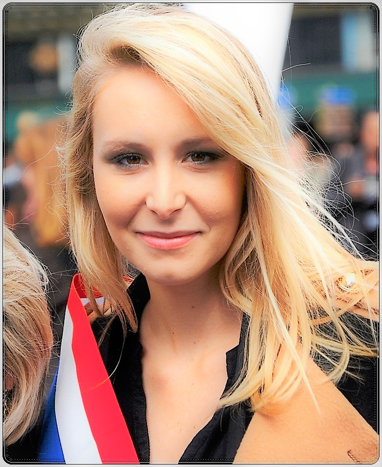 1st of May 2014 in Paris/ 1er Mai 2014 a Paris / Marion Maréchal-Le Pen