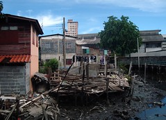 demolition, residential area, disaster, slum,