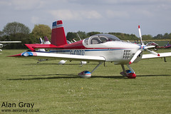 G-CDZD VAN'S RV-9 PFA 320-13966 PRIVATE -Sywell-20130601-Alan Gray-IMG_9304