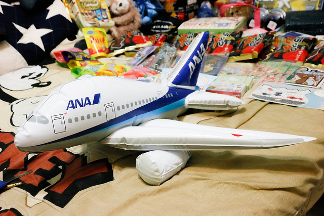ANA 充氣飛機
