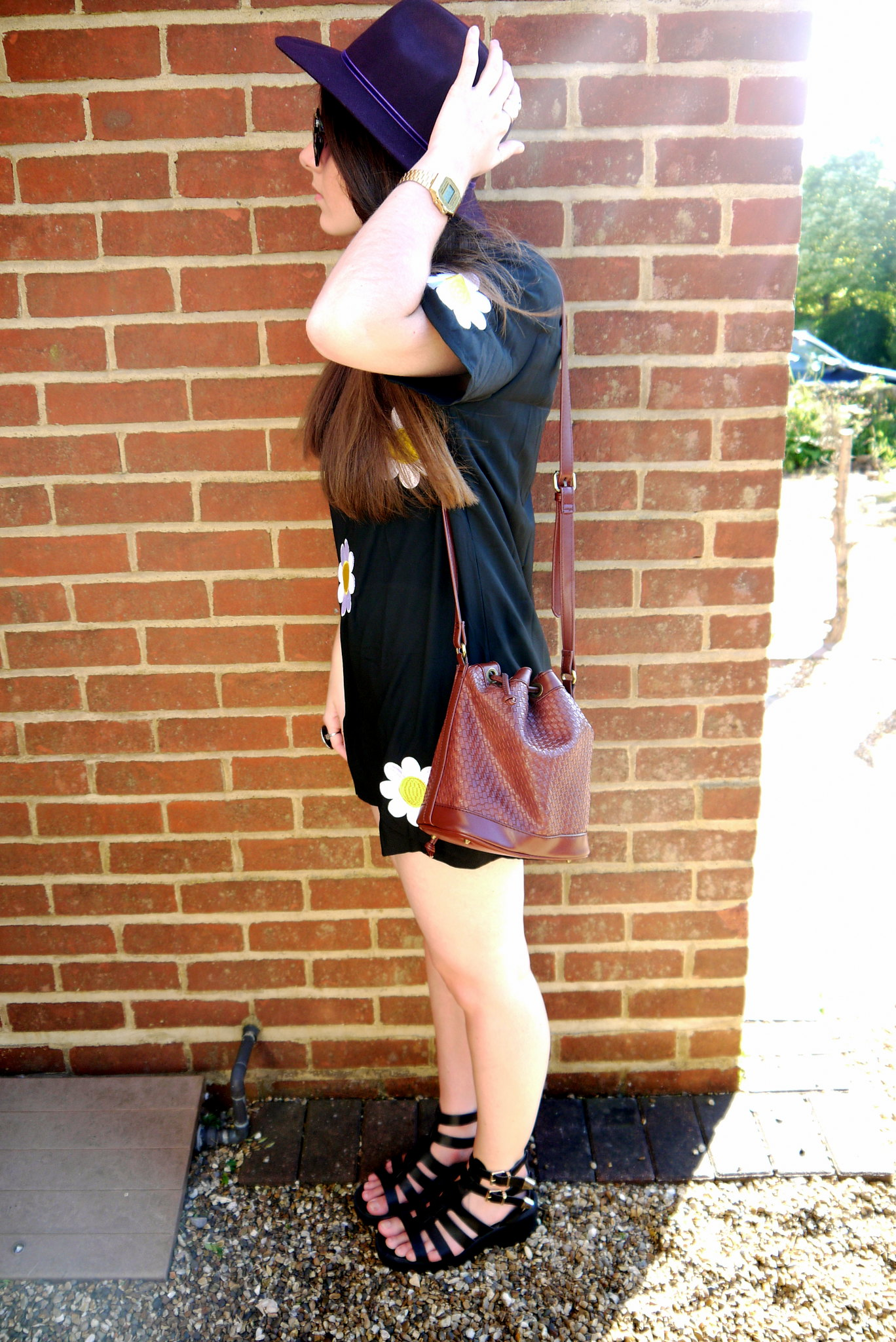 [blog] Missguided Daisy Dress - Kirsty Wears