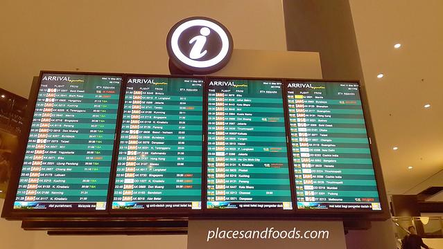 klia2 arrival board