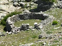 Enclos de murets des bergeries d'Arenucciu