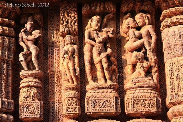 Sun temple - Konark, Orissa, India