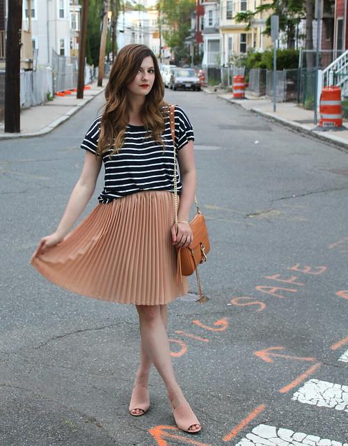 peach skirt 4