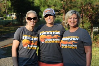 Florida team participates in Torch Run to support Special Olympics