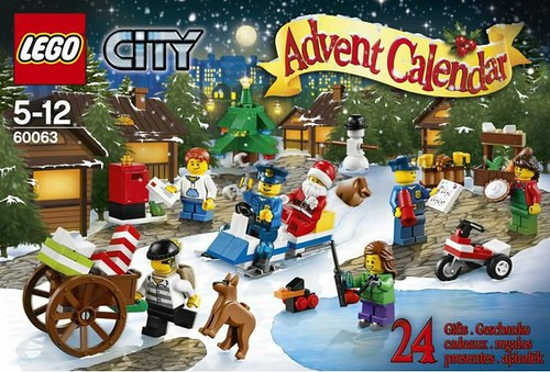 60063 City Advent Calendar BOX