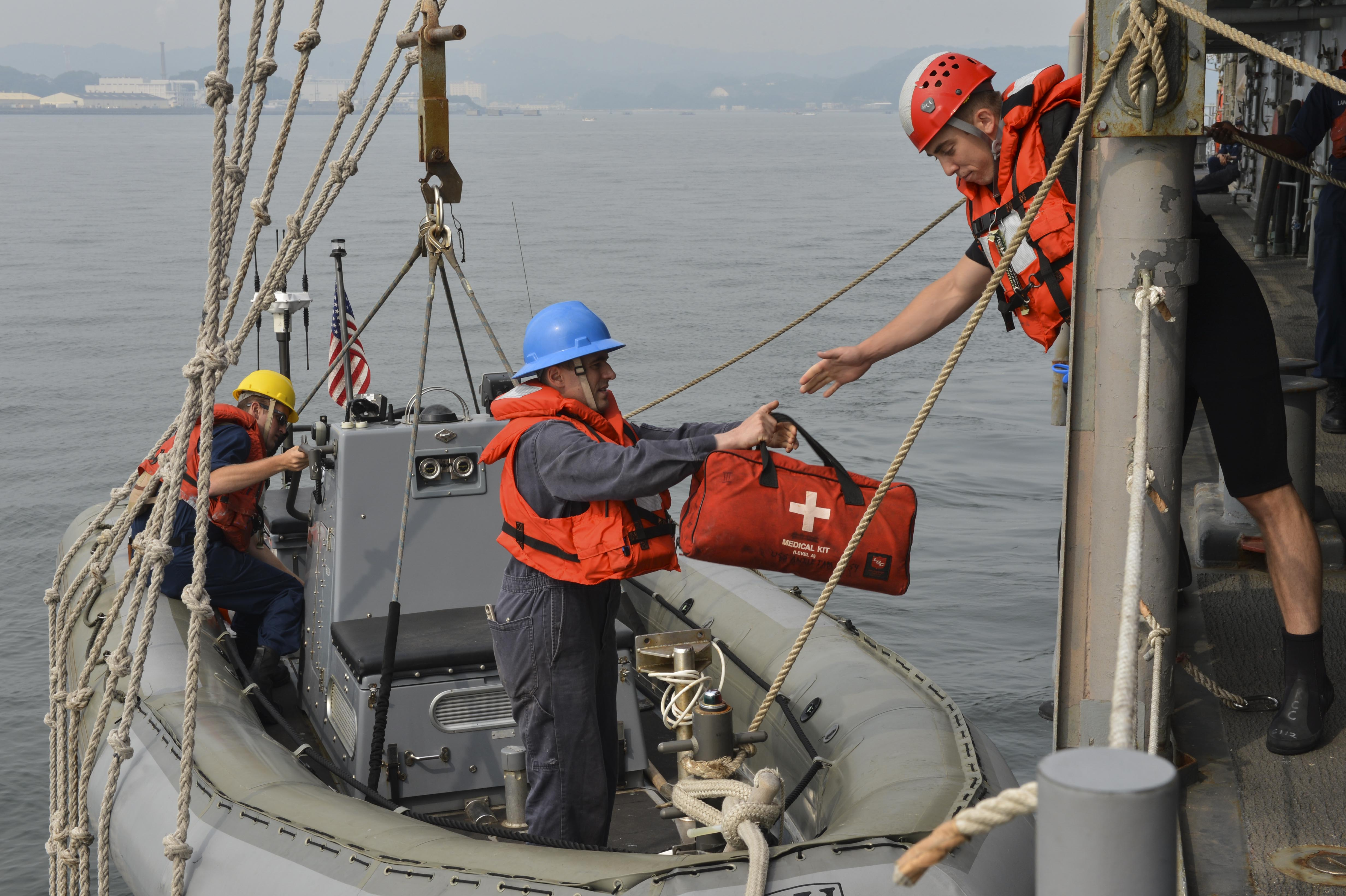 USS Antietam Supports Security and Stability