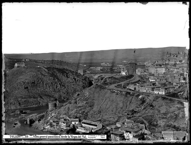 Toledo hacia1872 fotografiado por Jean Laurent. (c) Fototeca del IPCE, signatura VN-03004_P