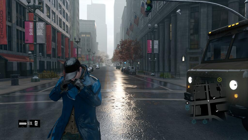 Watch Dogs Wet Road Comparison