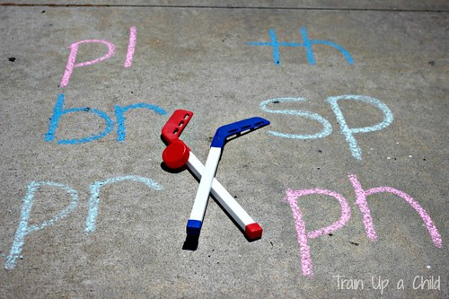 Gross Motor Phonics Games (Photo from Learn Play Imagine)