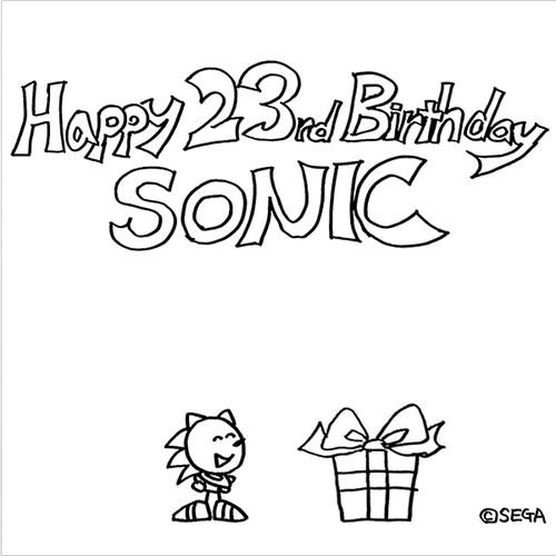Happy 23rd Birthday, Sonic!