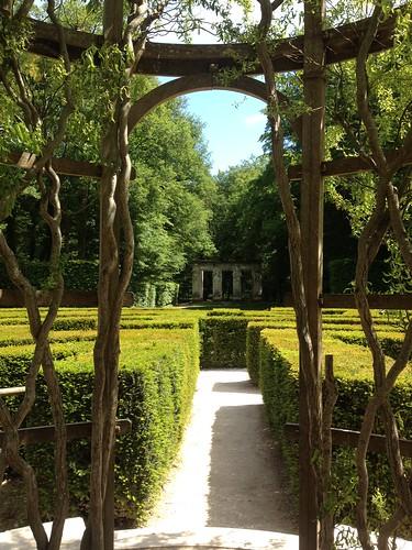 Chenonceau gardens