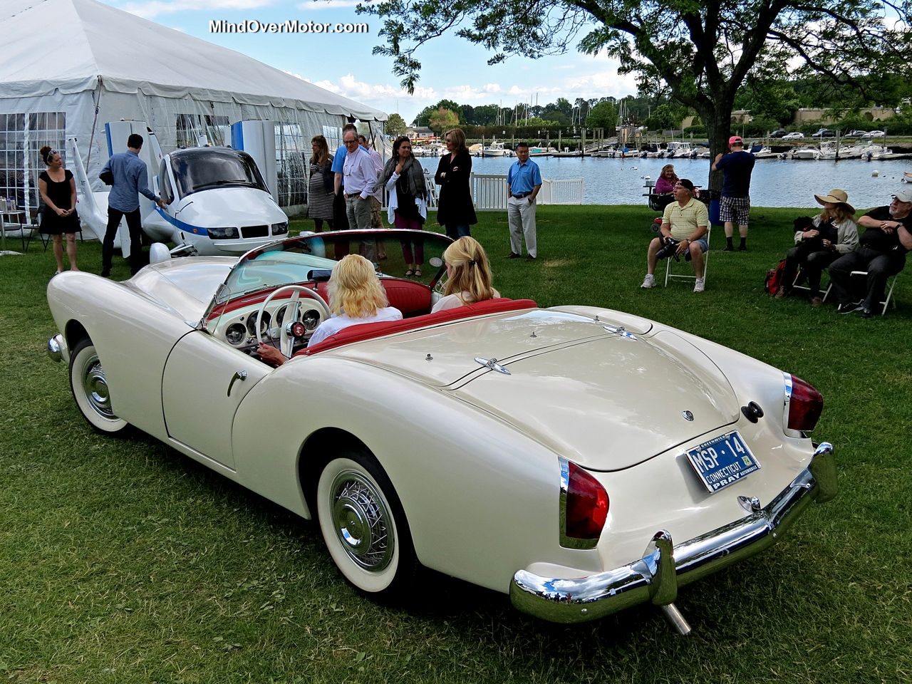 Kaiser Darrin at the Greenwich Concours d'Elegance
