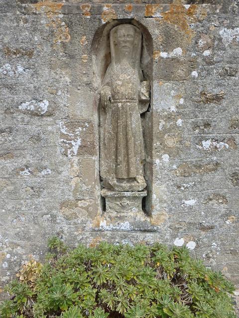 114 Antoine le Grand, Eglise de Grenneville, Crasville