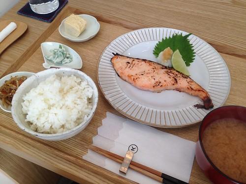 主廚特製鮭魚定食, 小器食堂, 台北