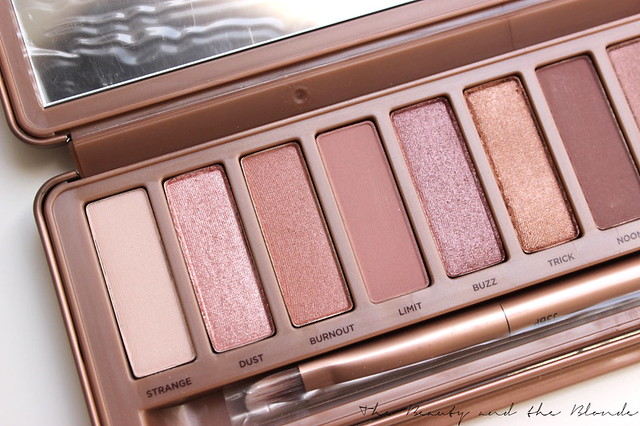 Urban Decay Naked 3 Palette, Farben 1 bis 6, Strange, Dust, Burnout, Limit, Buzz, Trick