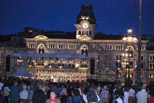 Trieste, Piazza Unità D'Italia, 30 giugno 2014