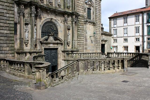 Church of San Martiño Pinario, Santiago de Compostela