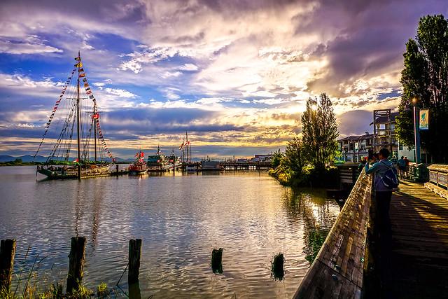 Richmond Ships to Shore Steveston at Sunset