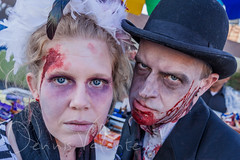 Zombies at HONK! Fest West