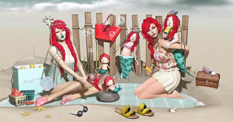 """Amelie et les petites: Episode """"Small Red Sandy Mermaids"""""""