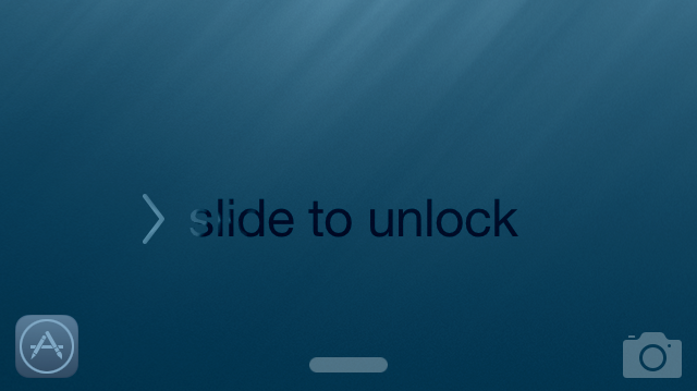 iOS 8 App Shortcut Lock screen