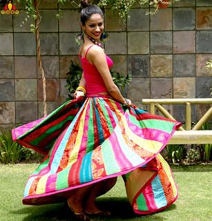 Designer Colorful Skirts