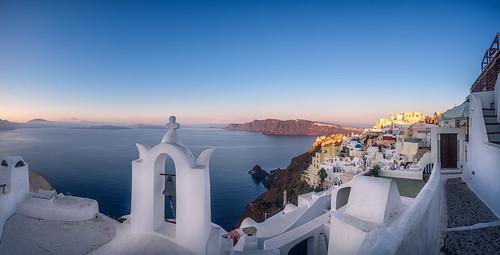 panorama sunrise santorini greece oia egeo earlymorninglight colourimage leefilters nikond800 lee06gndsoft phottixgeoone nikkor160350mmf40 mpr192nodalslide