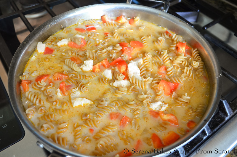 One-Skillet-Chicken-Macaroni-and-Cheese-with-a-Gluten-Free-Option-Bell-Pepper-Garlic-Tomato-Paste-Chicken-Stock-Milk.jpg