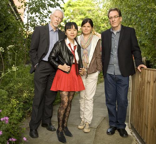 JM Coetzee, Xiaolu Guo, Julia Franck and Ivan Vladislavić