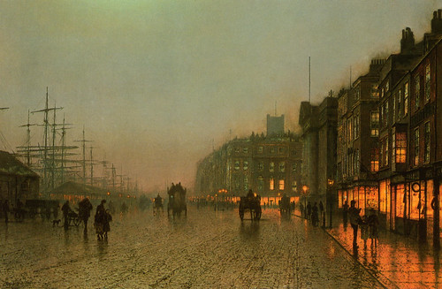 Rainy Nights: Paintings by John Atkinson Grimshaw, 1800s