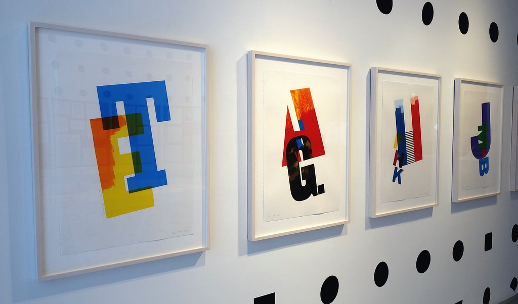 AIGA, Century: 100 Years of Type & Design. Photo by Michael Surtees