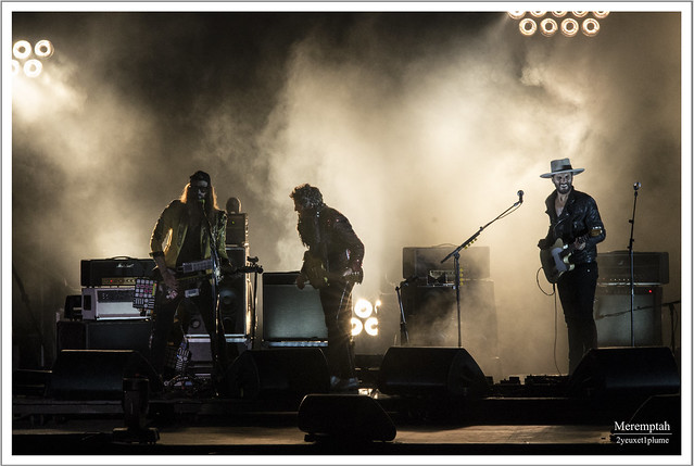 -M- Pause Guitare - Albi 2014 Jam Matthieu Chedid et Yodelice