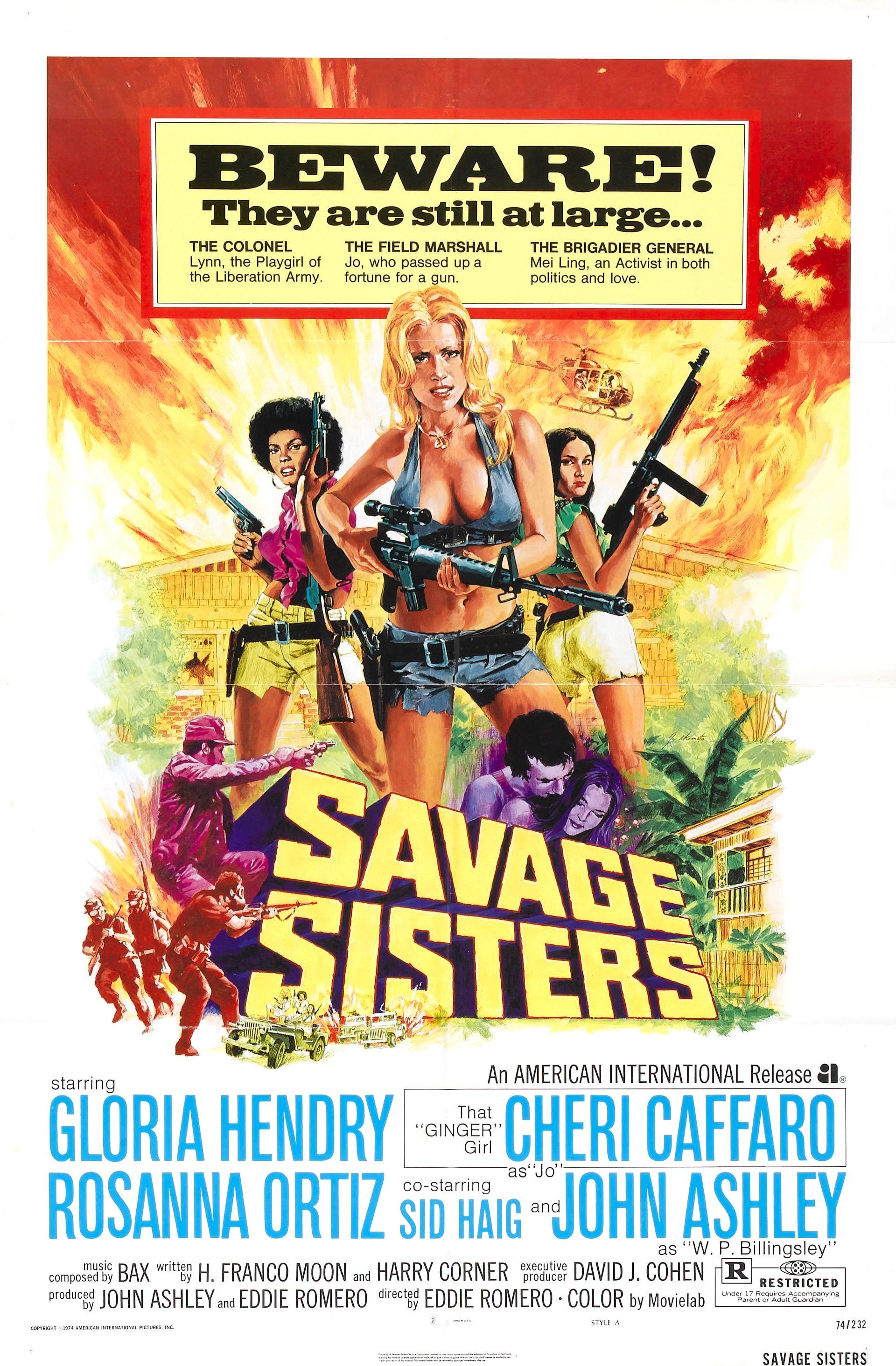 Savage Sisters (1974)