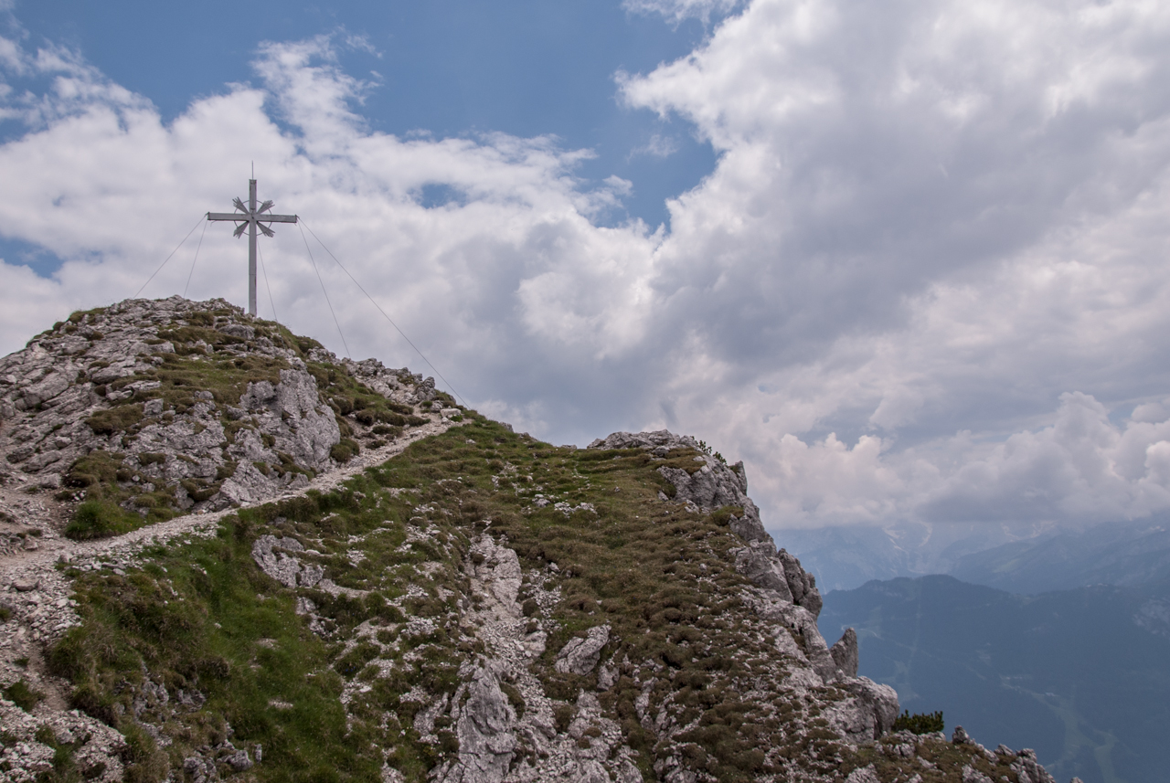 Gipfelkreuz Kramerspitz