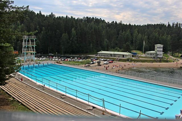 Ahvenisto open air pool