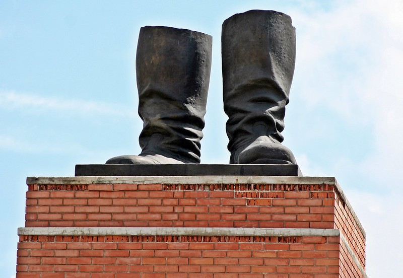 Budapest - Memento Park - Stalin's Boots