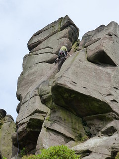 Martin on Kestrel Buttress