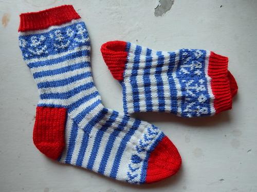 полосатые носки5