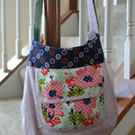 sidekick tote with cotton + steel mustang