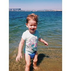 Baby by the #bay #sandiego #babygirl #twoyearsold #summer