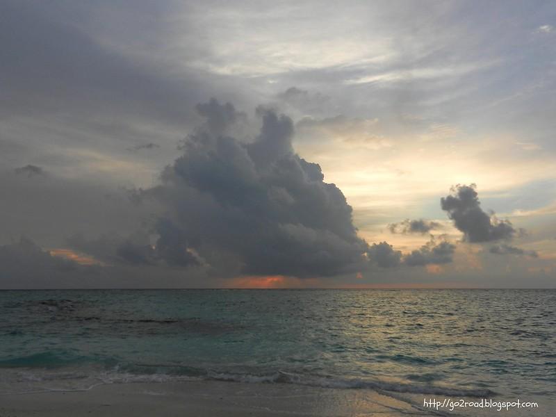 Облака в океане